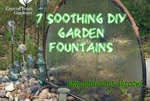 Gardening - Fountains