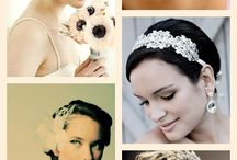 Short hairstyles for hats, races, weddings / Short hair, hats, flattering, stylish