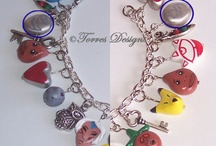 Necklaces & Bracelets & Rings / Necklaces and bracelets from the gothic to geeky look. / by Cheyenne Fischer