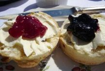 Scones / Cream or jam first?  Or are you a savoury scone scoffer?