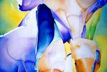 Painting Irises / by Francoise Chauray