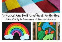 Felt Craft Activities