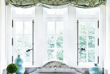 valances/drapes / by Cheryl Phillips