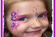 Face Painting | Paixnidokamomata.gr / Face painting και henna tattoo από ειδικούς επαγγελματίες που θα πειραματιστούν με την έκφραση και τις δυνατότητες του προσώπου σας, δίνοντας ξεχωριστό χρώμα στο δικό σας πάρτυ. http://www.paixnidokamomata.gr/events/paidika-parti/happenings.html / by Παιδικά Πάρτυ