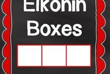 Elkonin Boxes / by Pam Christopherson