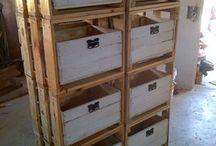 cabinet board pallet