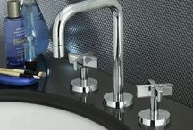 Bathroom Sinks and Faucets / With a perfectly crafted design, a bathroom sink and faucet can do so much more than just provide its basic function of supplying water. The right sink and faucet combination can be the centerpiece of a bathroom.