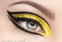 Bird Costume / Eye make up