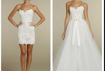 Shirt wedding gowns / A girl can dream… right?