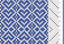 Crafts / Weaving, cross stich