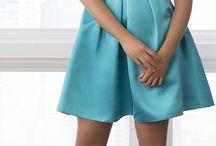 Satin dresses
