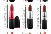 Lipsticks and combos / Best lipsticks from MAC and other brands as well as lipstick and lip liner combos.