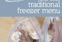 Freezer Recipes / by Jenny Morrell