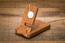 Luxury Pocket Stand for Apple Watch / Inspired by our grandfather, the Luxury Pocket Stand holds your Apple Watch elegantly and simply. Introducing the Luxury Pocket Stand for Apple Watch from Pad and Quill.