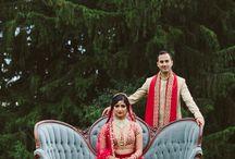 A Glamorous & Rustic Wedding