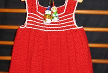 Sweet Baby Dress Red White