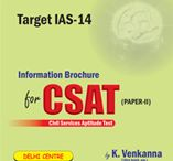 UPSC/IAS CSAT Coaching in Hyderabad / by Ims New Delhi