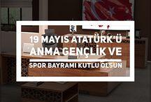 19 MAYIS 2016 / #19Mayıs Atatürk'ü Anma, Gençlik ve Spor Bayramımız Kutlu Olsun