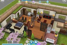 Sims houses