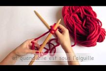 ❤ WoolKiss video tutorials ❤ / WoolKiss very clear knitting and crochet video tutorials for beginners. More on woolkiss.com