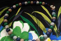 Athens protasis juwelery / Sieraden keramiek kralen. Winkel zit in Kreta Chersonisos