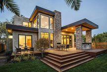 Taş dokulu evler