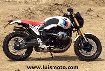 BMW R NineT Paris Dakar By Luismoto / BMW R NineT Paris Dakar By Luismoto
