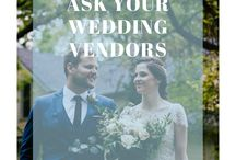 Questions to ask your wedding vendors