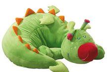 Puff greem dragon for Kids