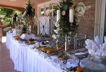 banquet Christmas table