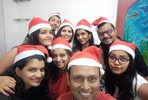 Christams Celebration / We celebrate Christmas in a unique way #ChristmasCelebrations #Christmas #EqSolutions #fun #joy #digitalagency #happiness #workculture #OfficeCelebrations #Equiens #Mumbai