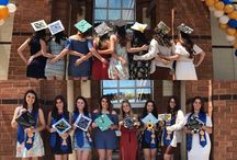 #SJCNYCaps 2017 / Images of the many decorated mortarboards on display before and during St. Joseph's College's 98th Commencement exercises. Images were curated from public social sites using the tag #SJCNYCaps or captured in person around campus and at each ceremony.