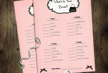 Printables  / Fun printables from bridal shower to baby shower to everyday printables.
