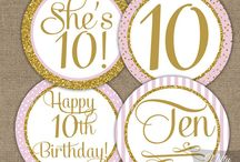 10 Years Birthday Party İdeas (Girl)