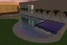 Pool Designs for clients / Examples of new pool designs for clients