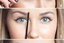 Maquillaje y cejas