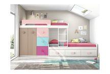 Dormitorios para niñ@s y jovenes / Dormitorios juveniles de todos los estilos y acabados.