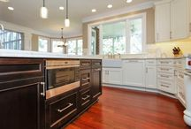 Glazed Cabinets / Showing a variety of styles for those interested in Glazed cabinets.