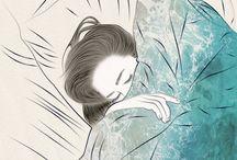 Sleep Illustrations