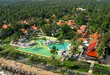 The Resort / Evason Hua Hin resort is located in the peaceful area of Pranburi to the south of Hua Hin Township and provides calming views of the Gulf of Siam. The resort is set amongst 20 acres of landscaped lush tropical gardens with lotus ponds.