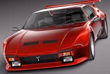 De Tomaso GTClassic Car / De Tomaso GTClassic Car #GTClassic.it