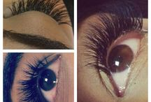 Volume lashes at Sands
