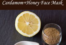 Homemade Face Masks - Quick and Easy / Learn how to make homemade face masks quick and easy with the ingredients you have at your home.  Face masks for acne, oily skin, dry skin, blackheads, sensitive skin, glowing skin, redness, deep wrinkles, combination skin types and more.