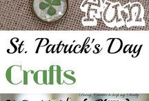 St Patrick's day crafts / by Kate Gomez