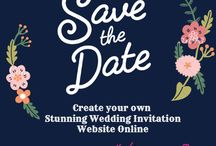 Wedding Invitations Online / At Wedding Tweet, you can create your own stunning wedding invitations website to be shared online from the in built & well customized themes.