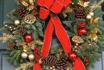 Holiday Wreaths / Decorate your home or office this holiday season with one of Trias Flowers' elegantly designed floral wreaths! With festive designs, beautiful colors, and a varieety of styles, you'll be sure to find a wreath you'll love to welcome your friends and loved ones to your holiday celebrations! http://www.triasflowers.com/occasions/holiday-wreaths-Miami-FL/