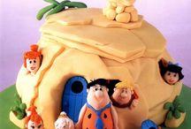 Flinstone cakes