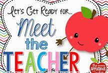Meet the teacher/Open House