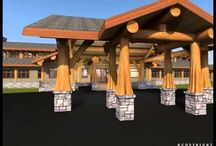 Volga - 24,000 sq. ft (2229.6 sq. m) / RCM CAD DESIGN DRAFTING LTD is an architectural design firm primarily specializing in log and timber construction projects.