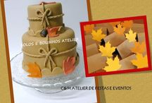 AUTUMN PARTY / Design table - umdiadefesta ; Graphic design - Shop Decora a Festa ; Sweets and other food - Bolos e Bolinhos Atelier
